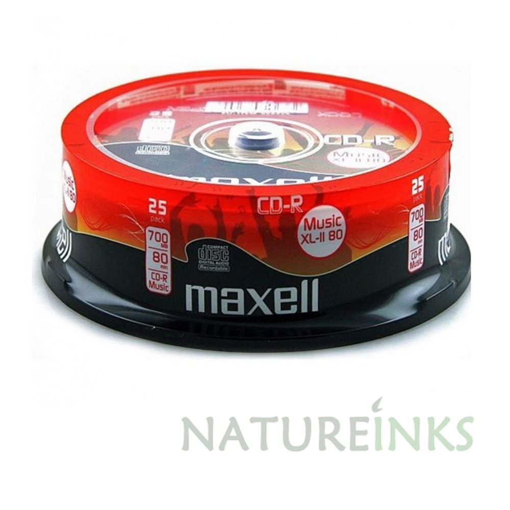 maxell cd rw for music